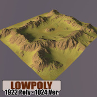 Lowpoly Mountain HL53