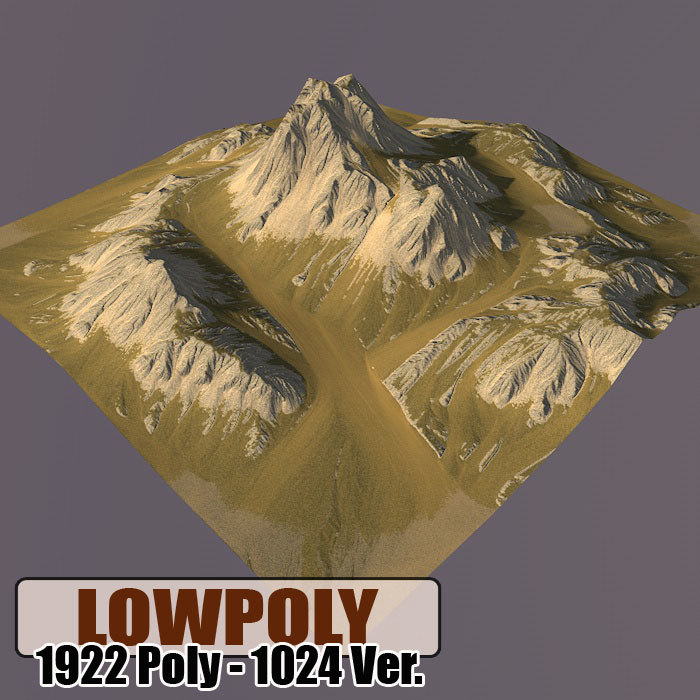 3d max mountain games maps