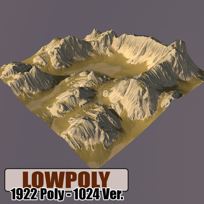 obj mountain games maps