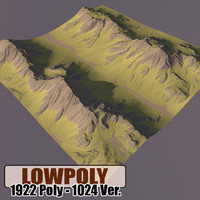 Lowpoly Mountain HL65