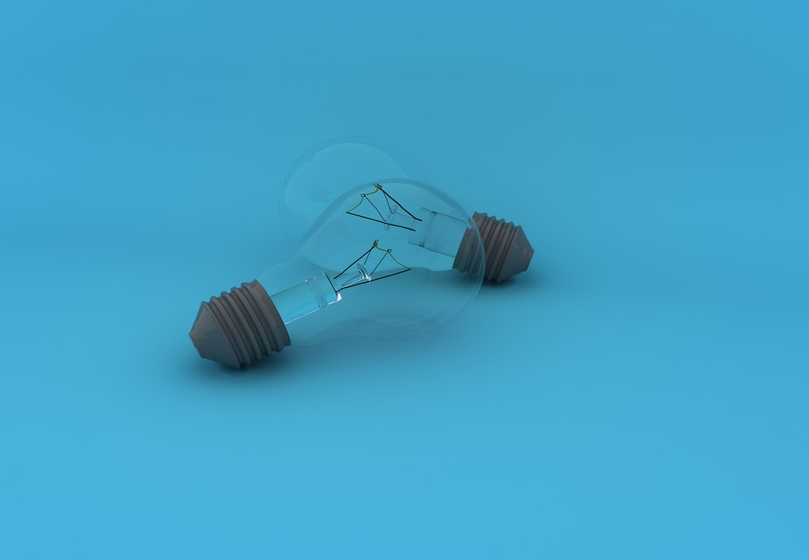 lightbulbs lights 3d max