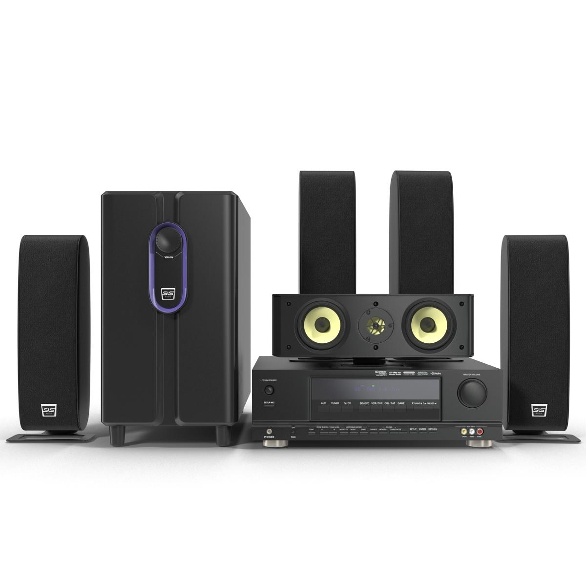 Surround Sound Home Theater System Sls Q Line Gold