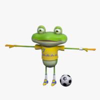 cartoon character mr froggy