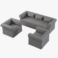 max baker horizonte skirted sofa chair