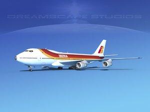 747-100 boeing 747 3d max