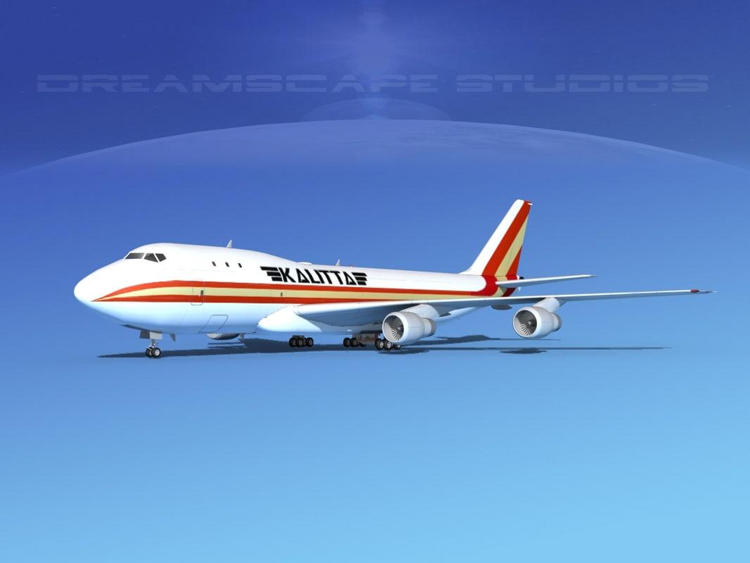 3d 747-100 boeing 747