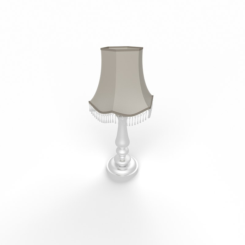 classic table lamp 3d max