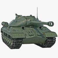 3d tank iosif stalin
