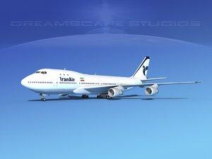 3ds 747-100 boeing 747