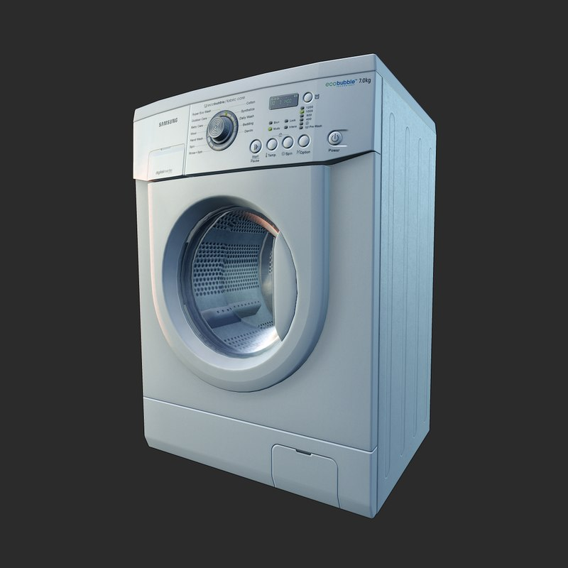 3d ready washing machine games