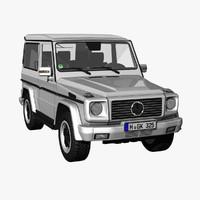 3ds max g-class short wheelbase