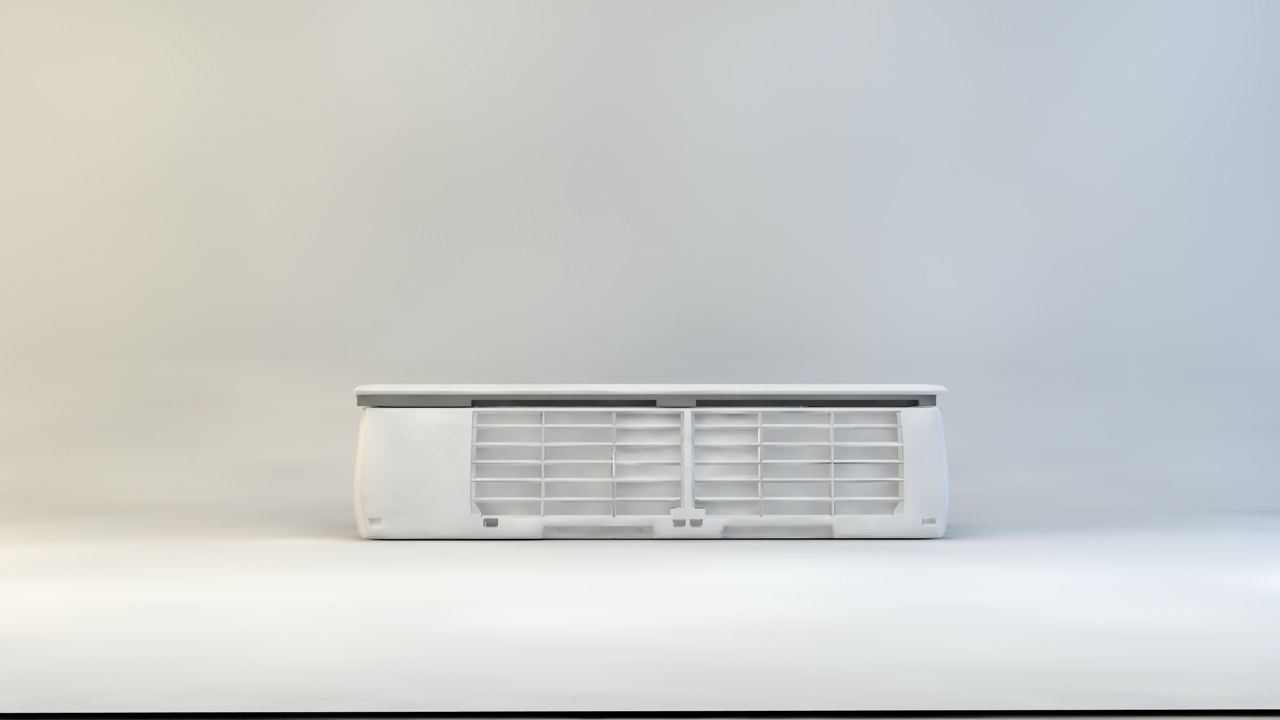 air conditioning c4d