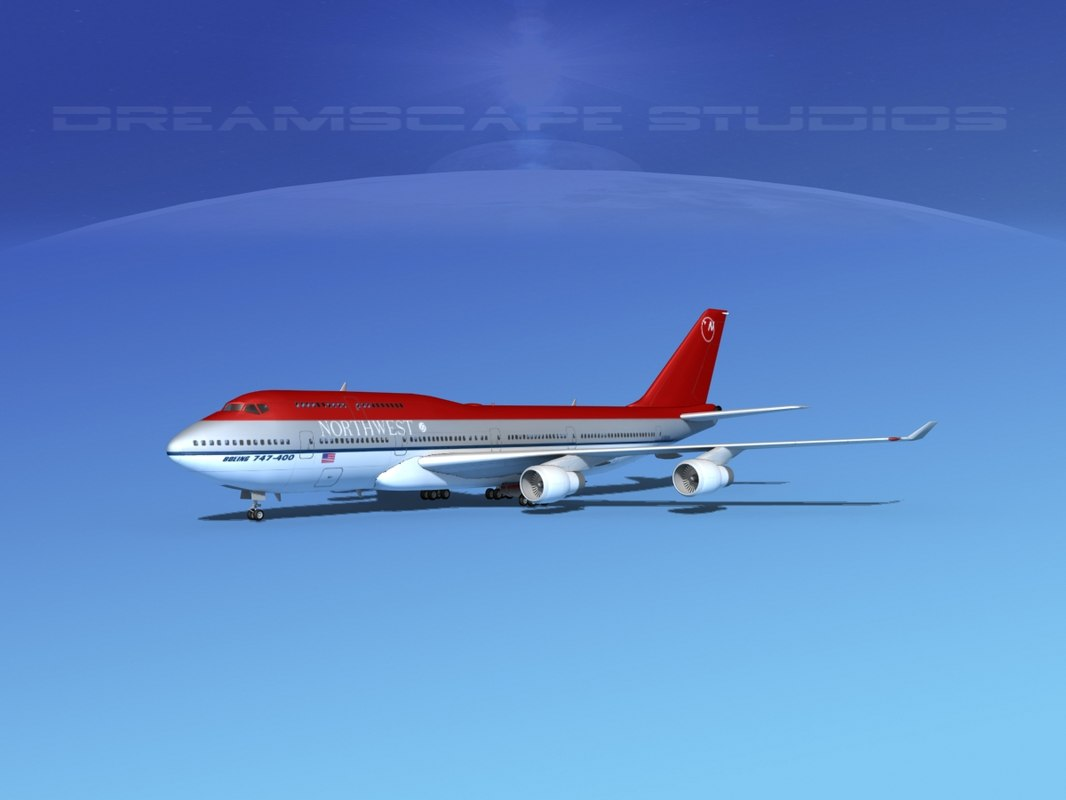 airline boeing 747-400 747 aircraft max