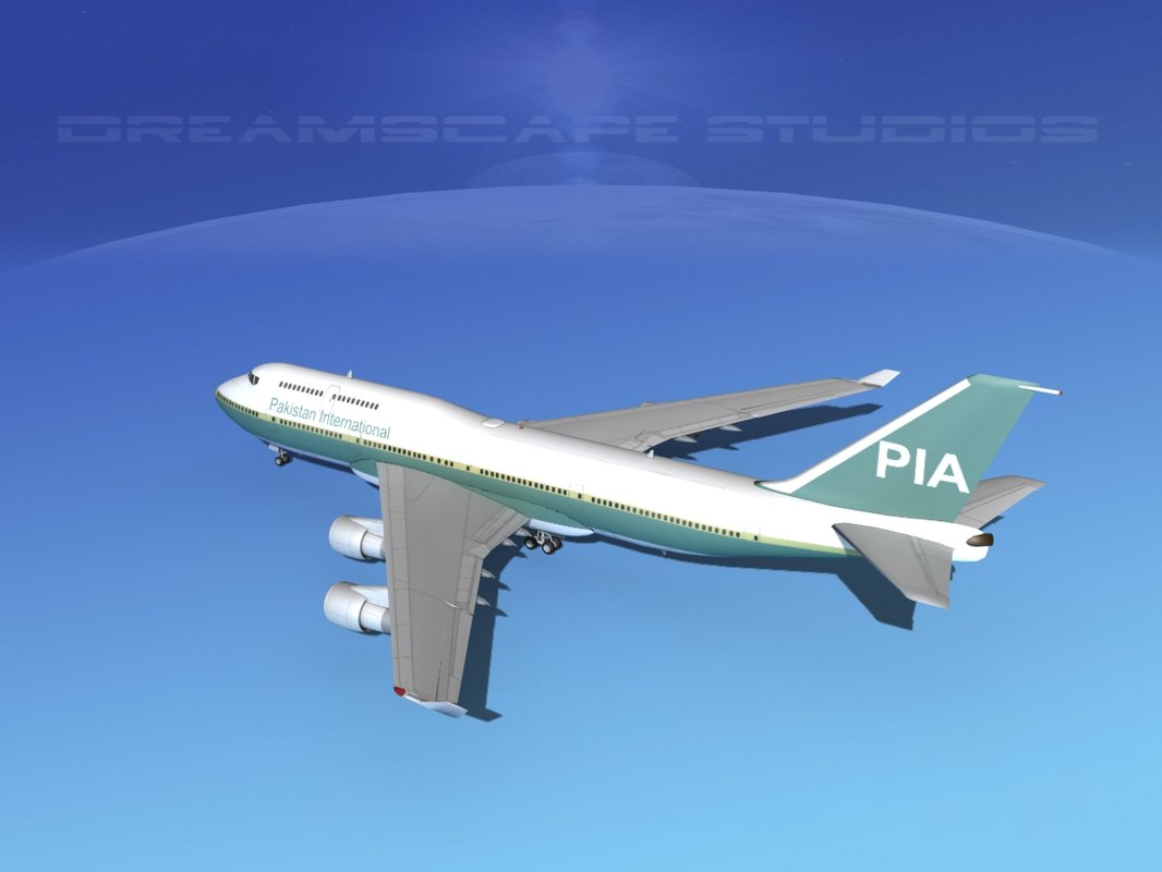 airline boeing 747-400 747 aircraft dxf