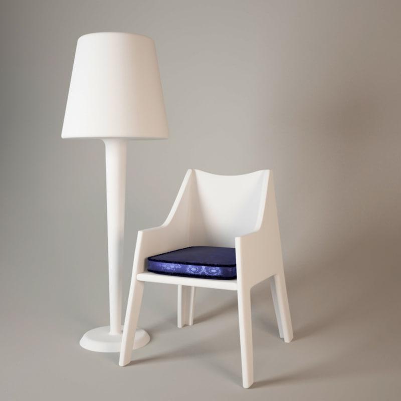 3d eva chair