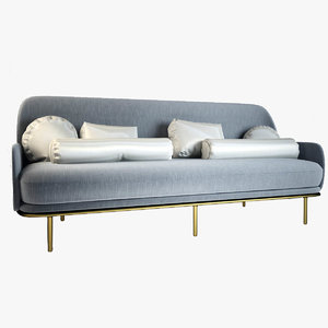 3d model beetley sofa