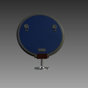 hatch lewmar profile n18 3d model