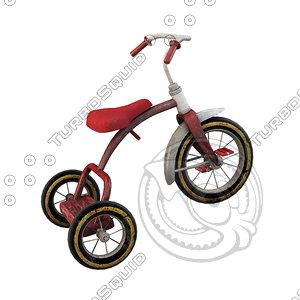 tricycle obj