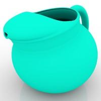 3d model jug