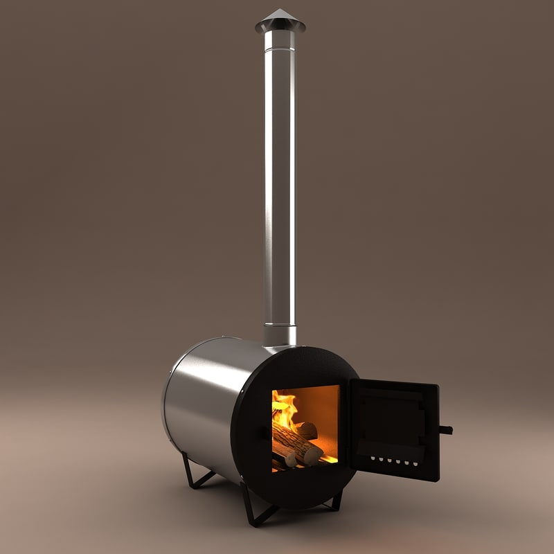 3d water-heating furnace