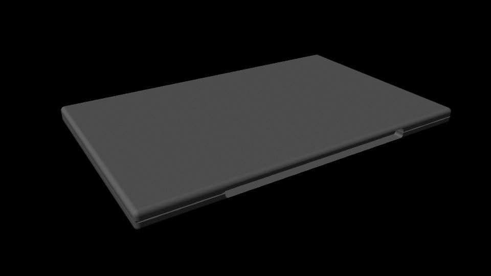 cd case 3d model
