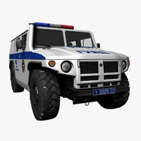 police omon tigr gaz