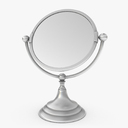 Oval Mirror 3D models