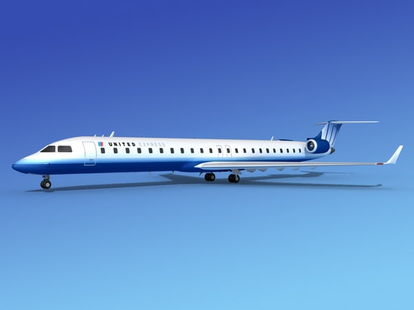 crj900 airlines bombardier 3ds