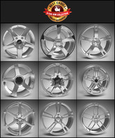 9 Alloy Wheel Pack