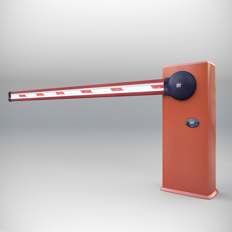 3d model access barrier