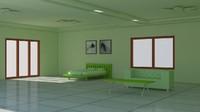 3d model room