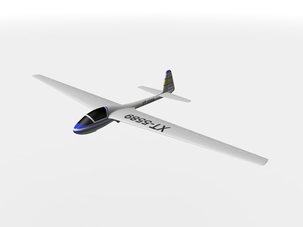 3ds max glider