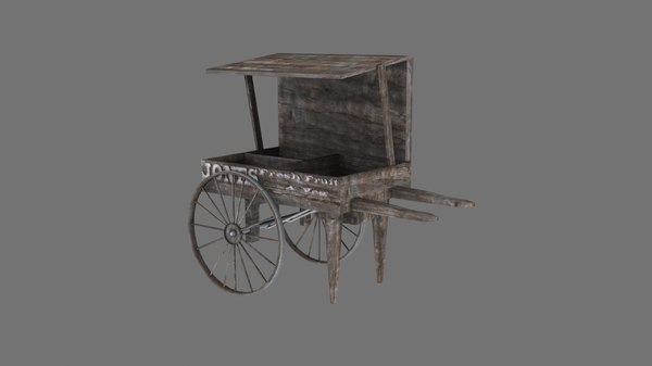 victorian wooden stall 3ds