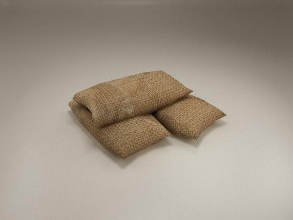 3d sandbags bag