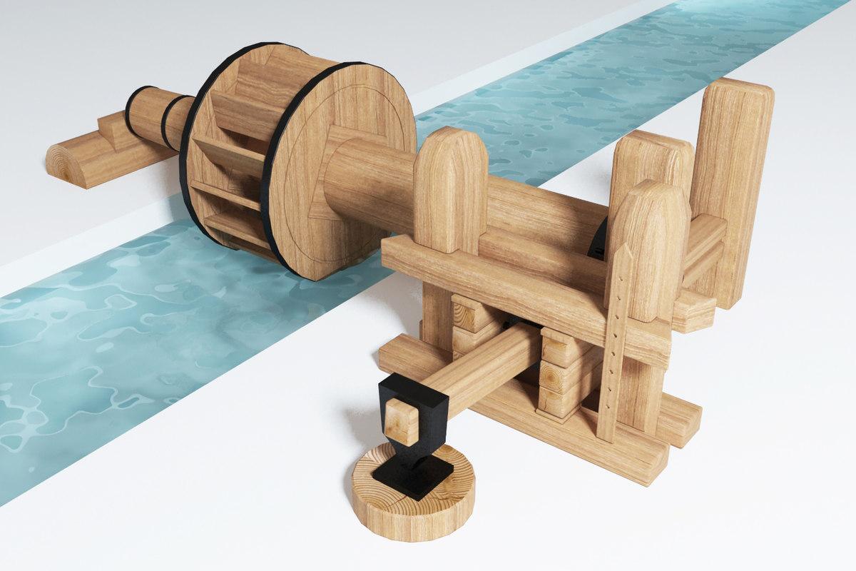 3dsmax water hammer