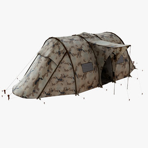 realistic military tent max