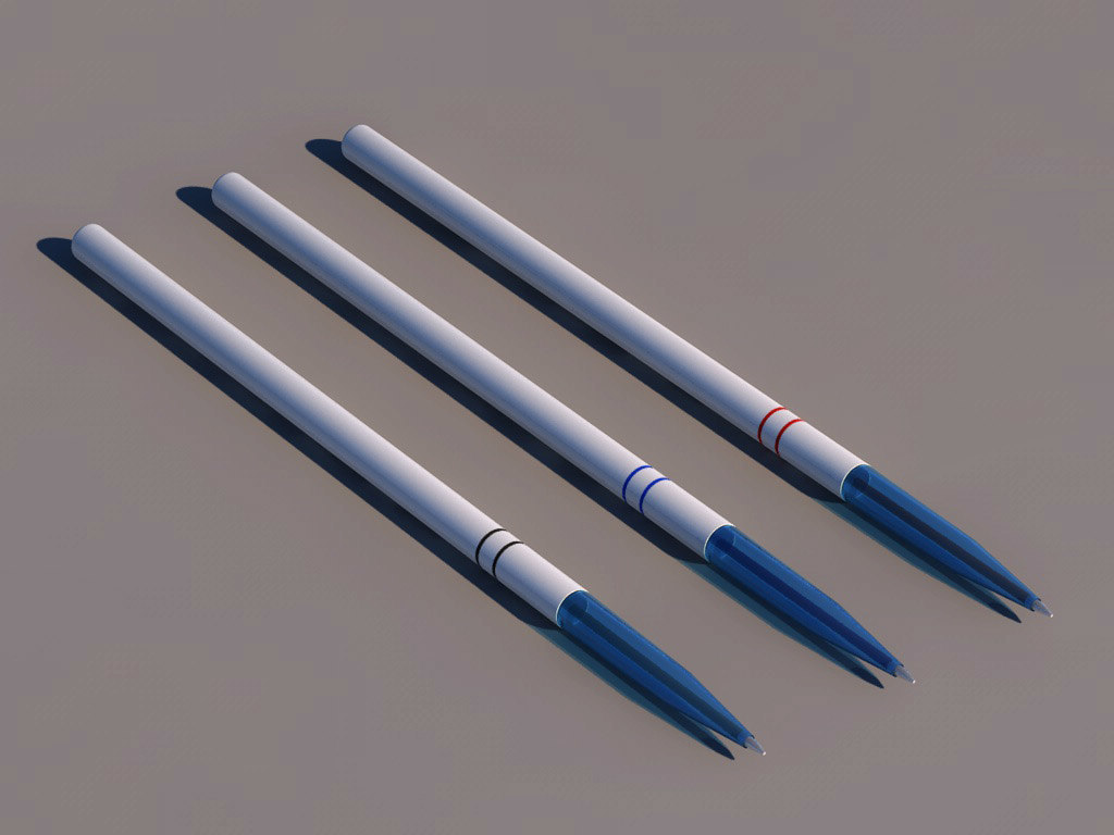 free pen 3d model