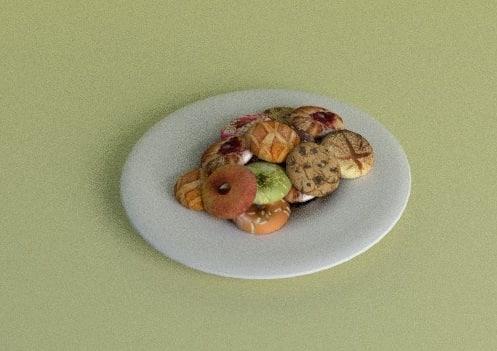 3dsmax bakery plate