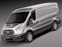 Ford Transit Short Low Van 2014