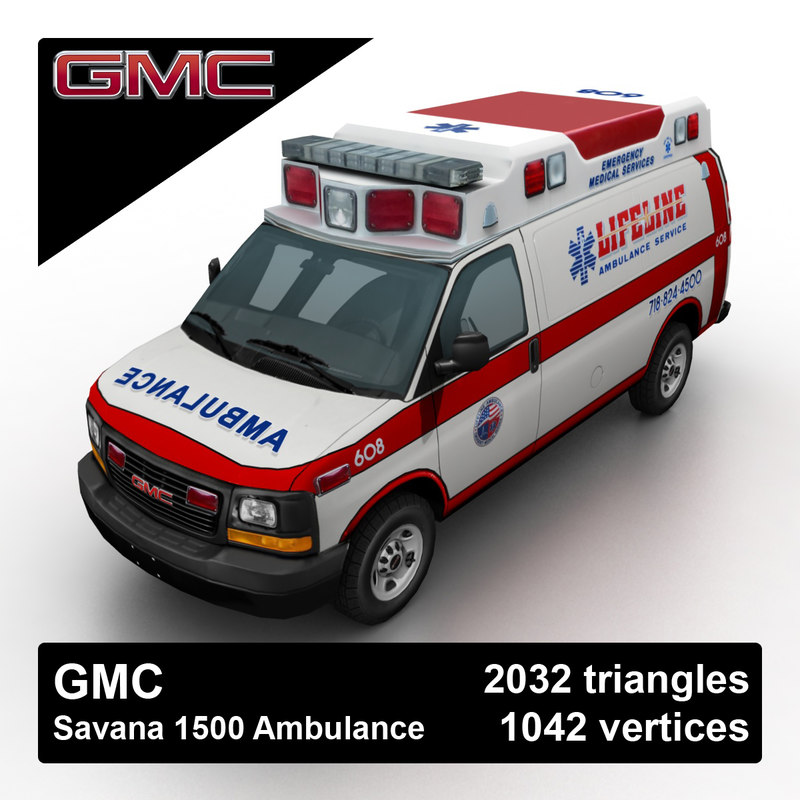 2012 gmc savana ambulance max
