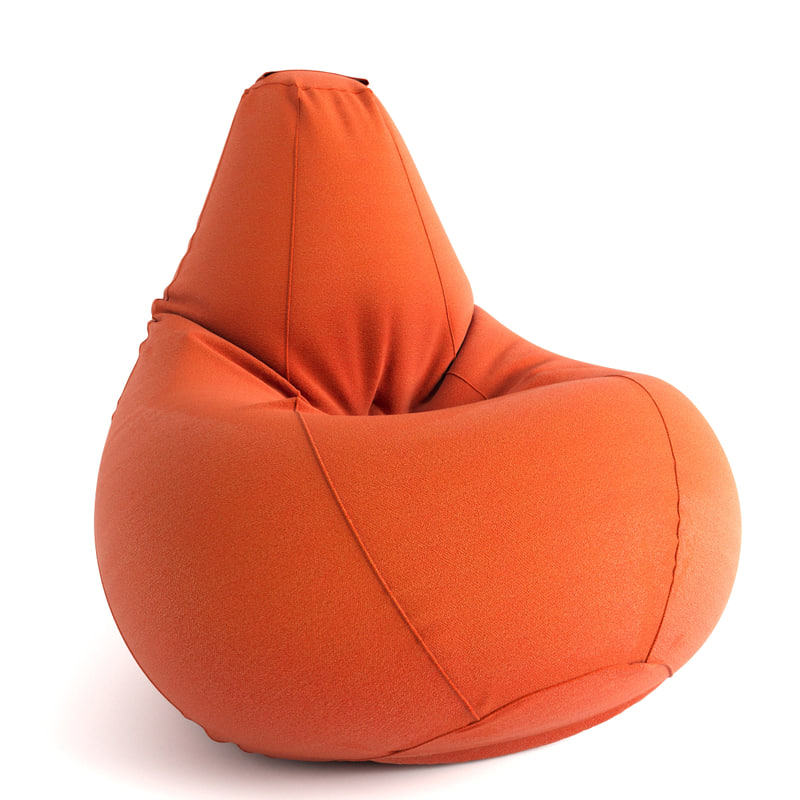 3d armchair pear model