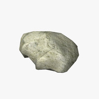 3d model rock 02