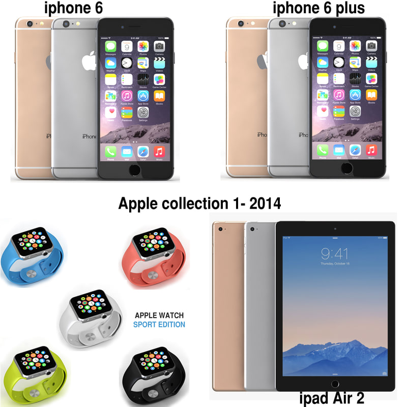 2014 apple 3d max