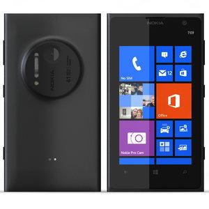 nokia lumia 1020 black 3d max