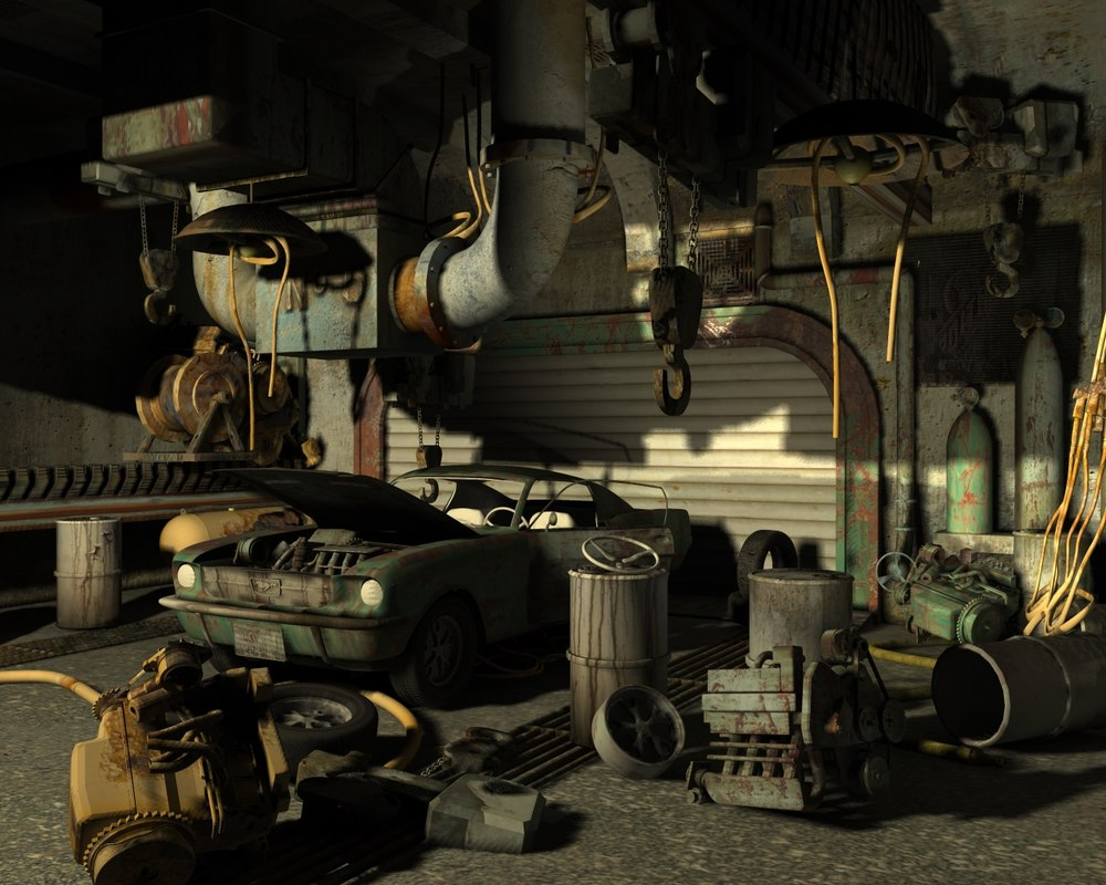 garage 3d x
