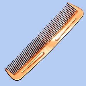 comb modeled 3d model