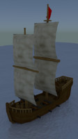 boat pirate 3d 3ds