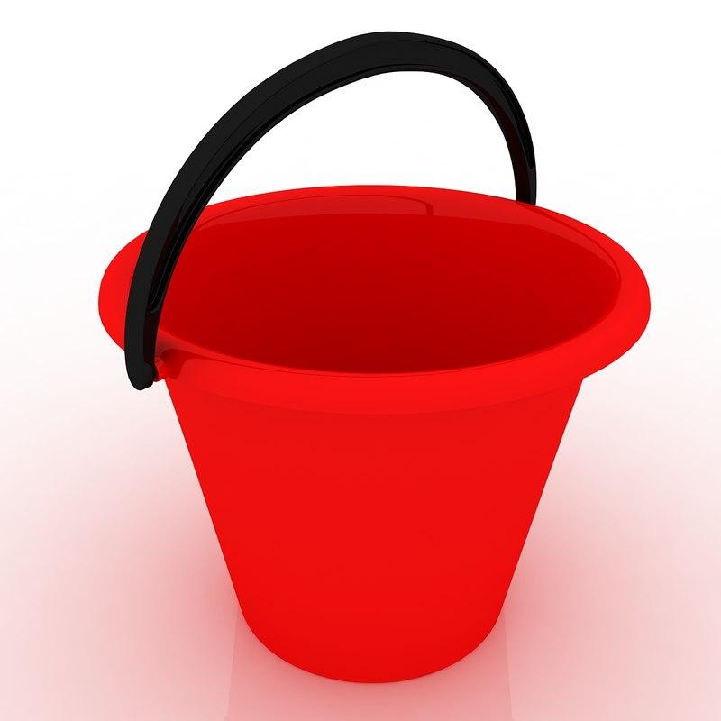 bucket 2 3d model