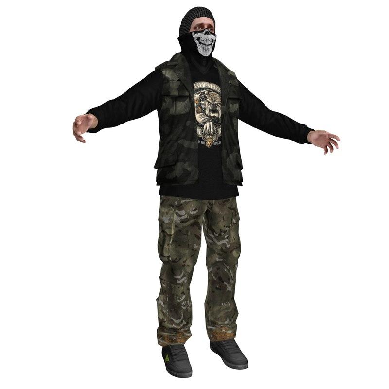 max rebel guerrilla man