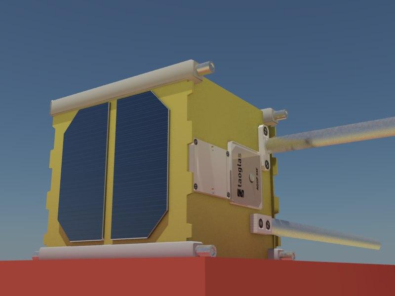 litsat-1 cubesats 3d 3ds
